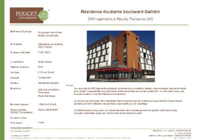 110194 Résid etudiante Neuilly Plaisance elec