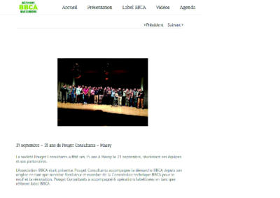 BBCA_ 21 septembre 35 ans de POUGET Consultants A MASSY