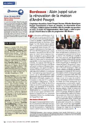 CFP_RENOVATION ANDRE POUGET SALUE PAR A. JUPPE A BORDEAUX