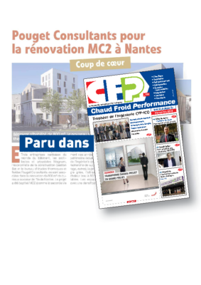 CFP_POUGET Consultants RENOVE SES BUREAUX MC2 A NANTES