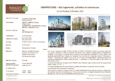 AXIMA_565 logements, activités et commerces_INSPIRATIONS_Ile de Nantes (44)