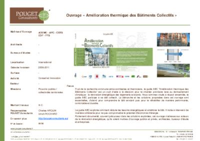 08136_Ouvrage Amélioration thermiquedes Bâtiments Collectifs