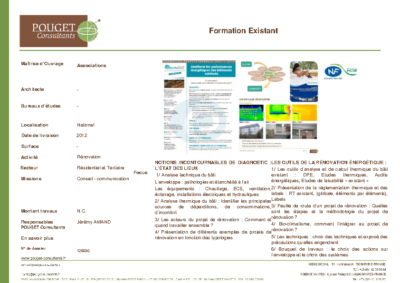 126030_Formation Existant