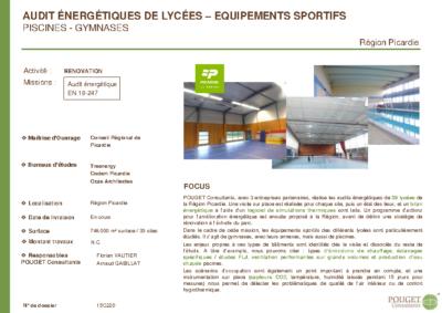 15C220_Audits énergétiques Complexes sportifs_Conseil Régional Picardie