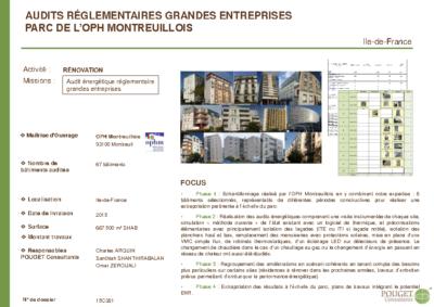 15C381 – OPHLM Audits réglementaires entreprises