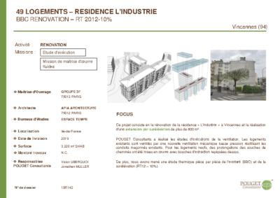 18R142_MOE rénovation rue de l'industrie_I3F_Vincennes