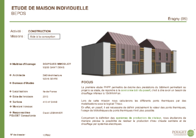 13E692_Maisons individuelles BEPOS_Bouygues Immo